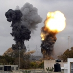 NATOs terror bombing of Libya