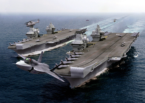 How To Build A 65000 tonne Aircraft Carrier