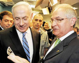 Ledezma meets with Netanyahu in Israel.